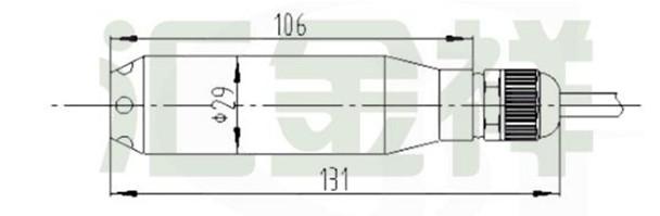 hy1001地下水位传感器,雷达水位计,电波流速仪